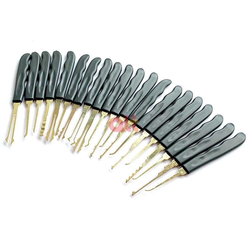 ГОСО 24 шт. стальные двери открывалка Выберите замок комплект инструмент для открывания замков слесарные принадлежности разблокировки слесарный инструмент отмычка набор