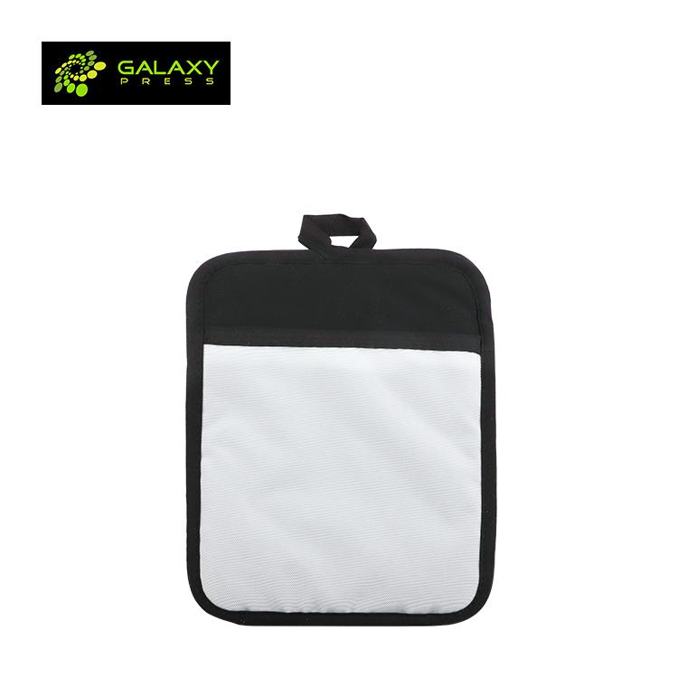 New Canvas Sublimation Pocket Pot Holder Blank Oven Heating Insulation