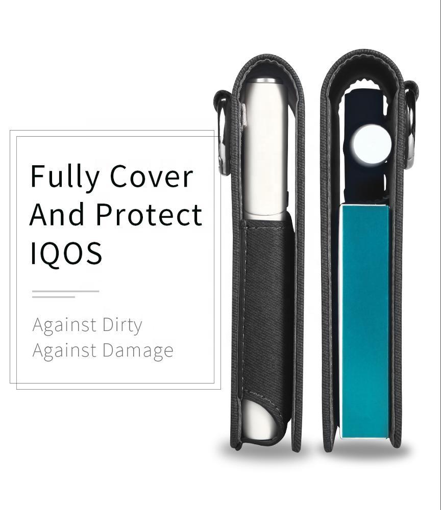 В наличии, Быстрая отправка, полная защитная коробка для вейпа, футляр для карт, чехол из искусственной кожи, сумка для iQOS 2,4 3,0 duo mu