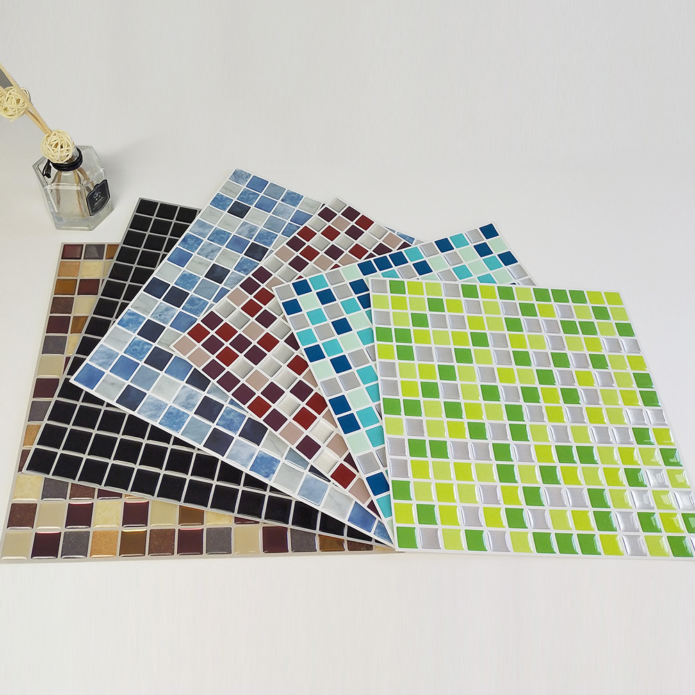 New New 3d Wall Tiles Peel And Stick ...