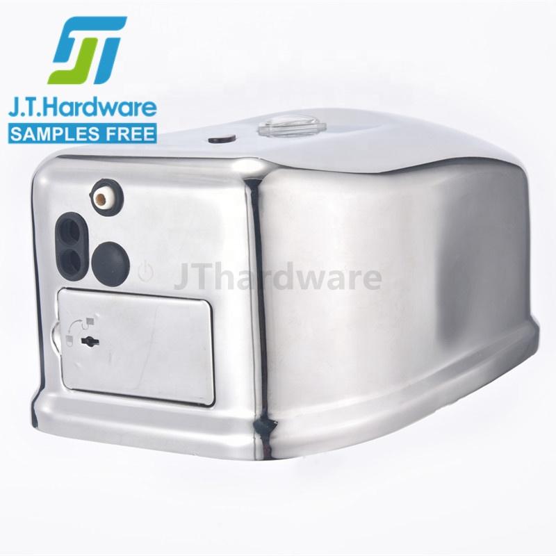 Роскошный настенный Электрический Бесконтактный автоматический дозатор жидкого мыла из нержавеющей стали 304 CE для отеля