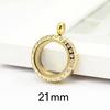 ES03 gold-21mm
