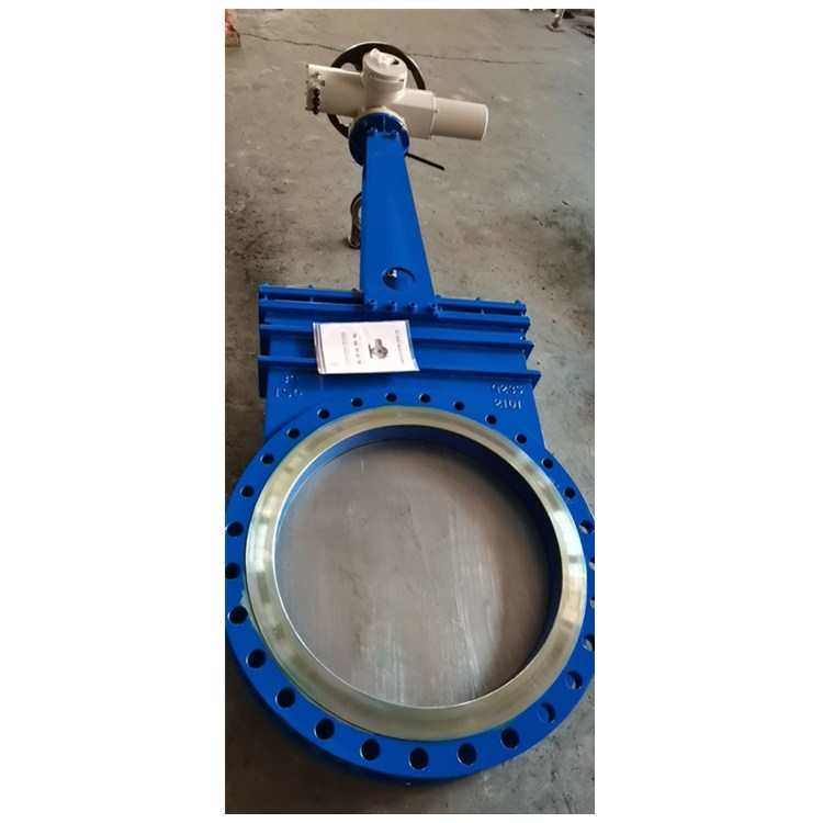 32 inch electric actuator knife gate valve