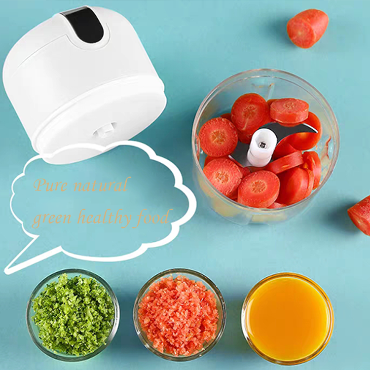 electric Cutter portable blender mini Food Processor mini food chopper
