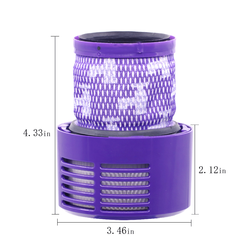 2 pcs Washable Filter Hepa Unit for D yson V10 SV12 Vacuum Cleaner Filters Spare Parts Accessories