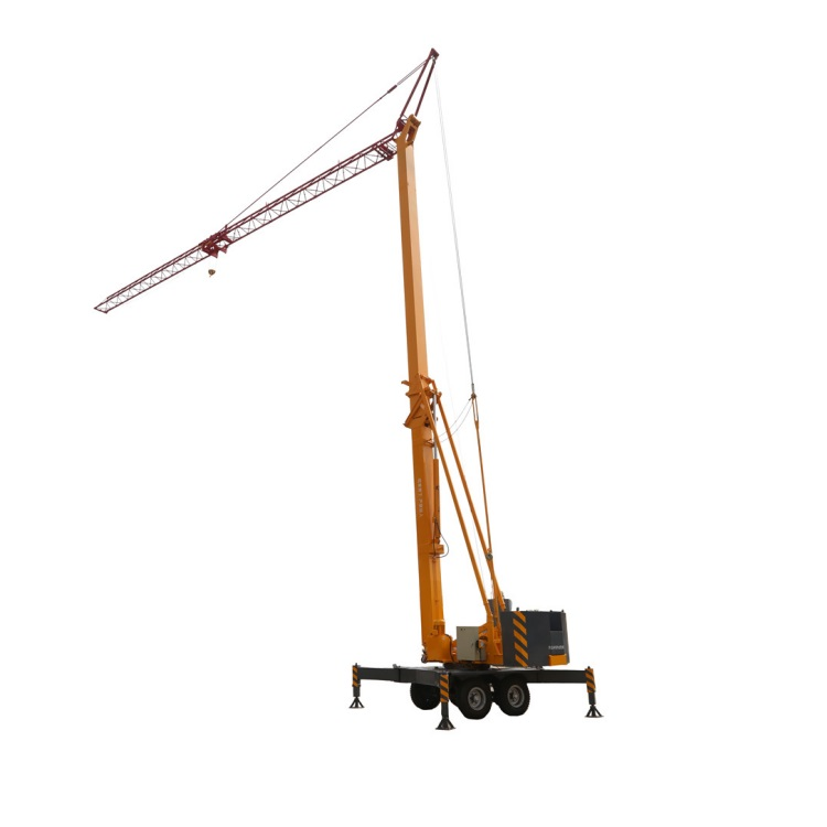 Stable performance tower crane portable 1.5T China tower crane small