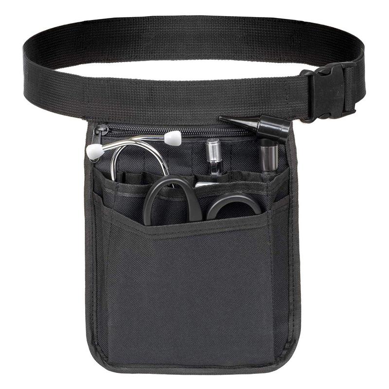 Nurses pouch waist bag Multi-pockets Waterproof Durable Medical Fanny Pack Nurse Organizer Belt Waist Bag