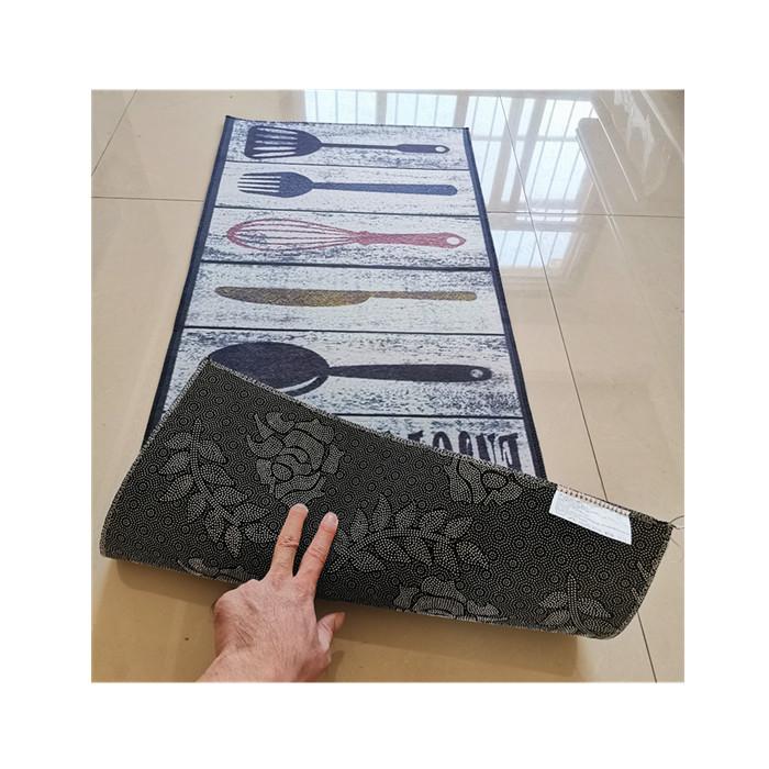 2pcs Set Non Slip Kitchen Mat Rubber Backing Doormat Runner Rug Buy Waterproof Kitchen Floor Mats Kitchen Padded Floor Mats Decorative Kitchen Floor Mats Product On Alibaba Com