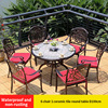 10-6 барный стул 1 керамическая плитка круглого стола D100cm