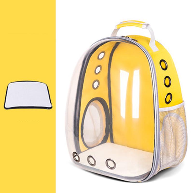 Дорожная сумка для кошек, женская прозрачная сумка из ПВХ, большая переноска, рюкзак для кошек, Сумка с окошком Astronauta Mochila Gato, сумка для щенко...(Китай)
