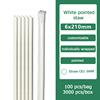 white flexible 6x197 wrapped