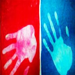 Ткань из полиэстера, меняющая цвет на солнце, ткань меняет цвет
