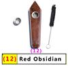 12 красный обсидиан