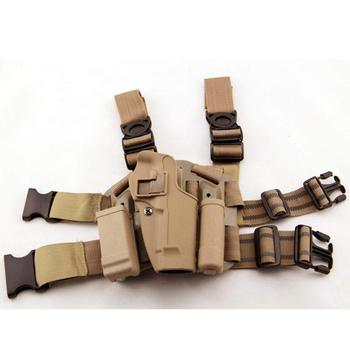Amazon Hot Sale Tactical Pistol Thigh Leg Holster Military Gun Holster