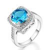 Platinum blue stone