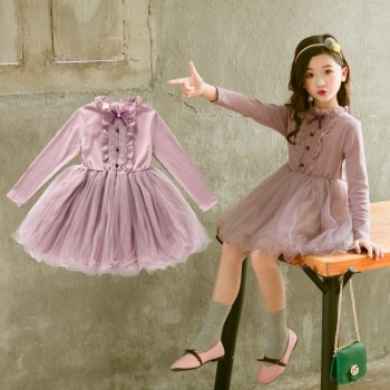 Chinese Clothing Manufacturers new style fashion party frock designs little girl dresses Of Online Shopping