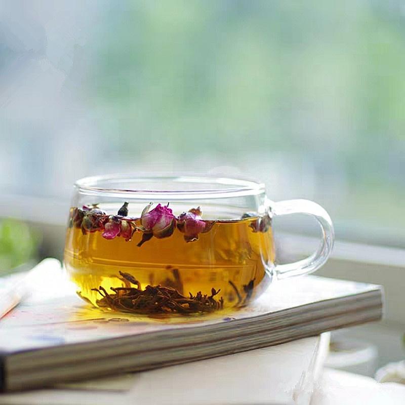 ZSL-FT-002 Chinese Tea Farms Fresh Detox Slim Dinks Rose Black Tea womb Fines Herbs Foods - 4uTea | 4uTea.com