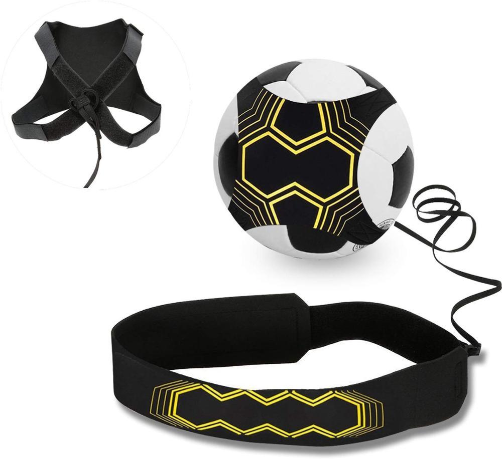 Регулируемый ремень для тренировок по футболу, Спортивная помощь, футбольный мяч, тренировочное оборудование