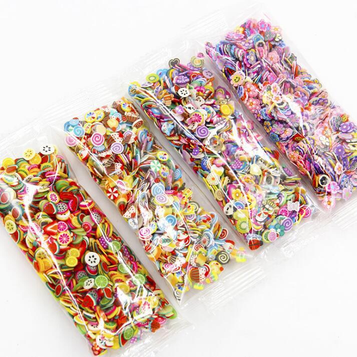 3D полимерные фрукты, ломтики, сделай сам, дизайн ногтей, слайм, товары, талисманы, Набор для изготовления слаймов, декоративное искусство