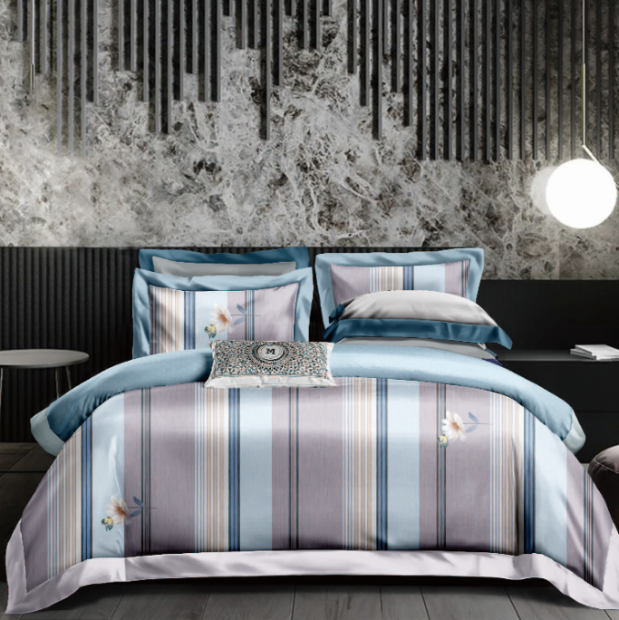 Wholesale 100% modal material fabric reactive printed textile fabric for bed sheet /bed cover