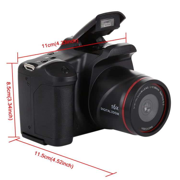 In stock Original HD DV SLR Camera 1.3 Mega Pix, 2.4 inch LCD, Full HD 720P Recording Camera