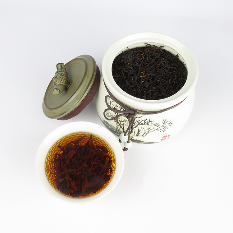Hot sale 100% leaf natural organic ceylon black loose leaf tea tin - 4uTea | 4uTea.com