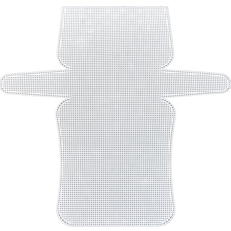 33055-1 иглы для рукоделия, перфорированные пластиковые холщовые листы для вышивки крестиком для сумки «сделай сам»