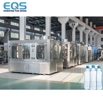 Mineral Water Plant Full Production Line Drinking Water Treatment And Packing Plant