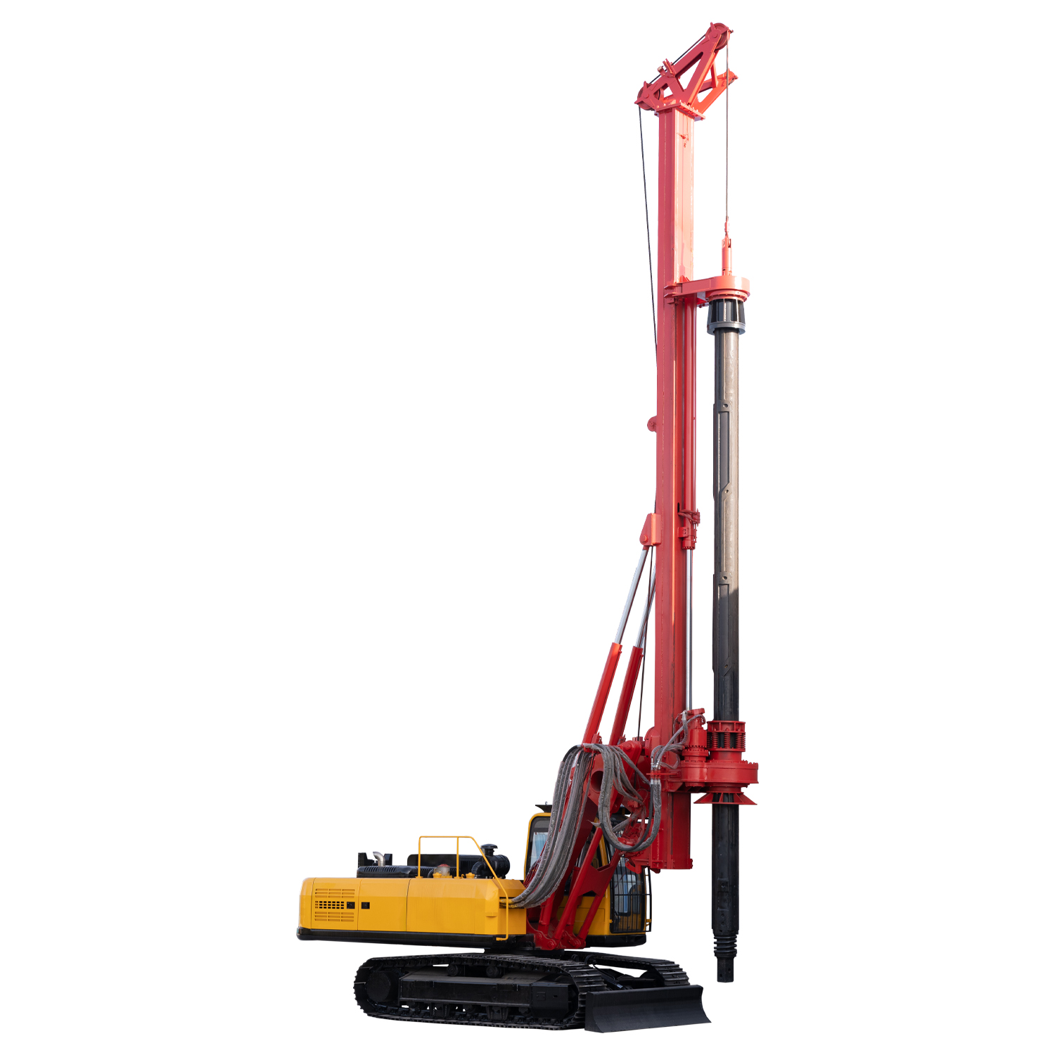 Mineral prospecting soil test mud out hydraulic rotary drilling rig DR-160 for sale