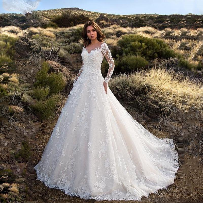 Wedding dresses brides maid dresses elegant Robe mariage2021