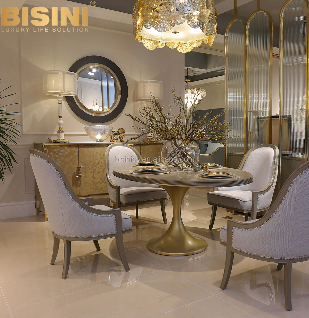 Bisini Luxury Modern Dining Collections Shell Round Pedestal Dining Table Buy Modern Dining Tables Wood Dining Room Sets Shell Pedestal Dining Table Product On Alibaba Com