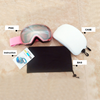 PINK-PINK LENS WITH WHITE CASE
