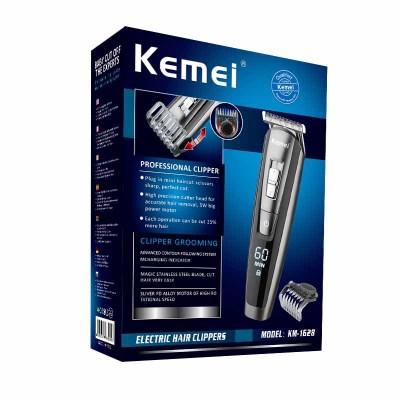 Kemei Новый трансграничной новой для стрижки волос, триммер для волос, машинка для стрижки km-1628 стрижки Машинка для стрижки волос