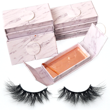 Wholesale False Eyelash 3D Real Mink Eyelashes Vendor With Custom Box