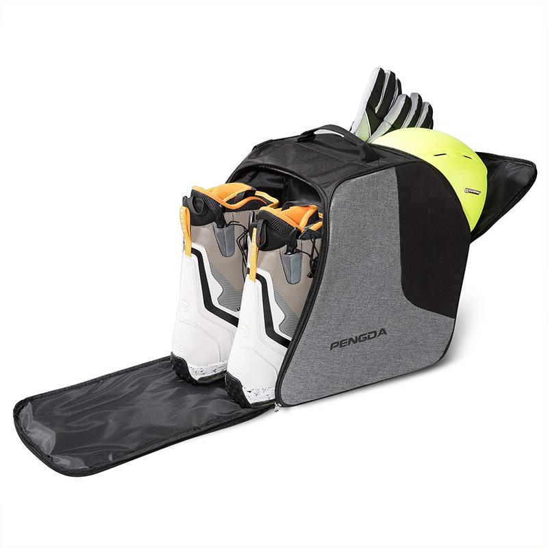 Дорожная сумка на плечо для снежной одежды с 2 отделениями, сумка для сноуборда, ботинок, обуви, лыжная сумка для лыжных шлемов, очков, перчаток, лыжная одежда, ботинки