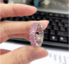 R058 pink silver