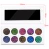 10 colors glitter palette