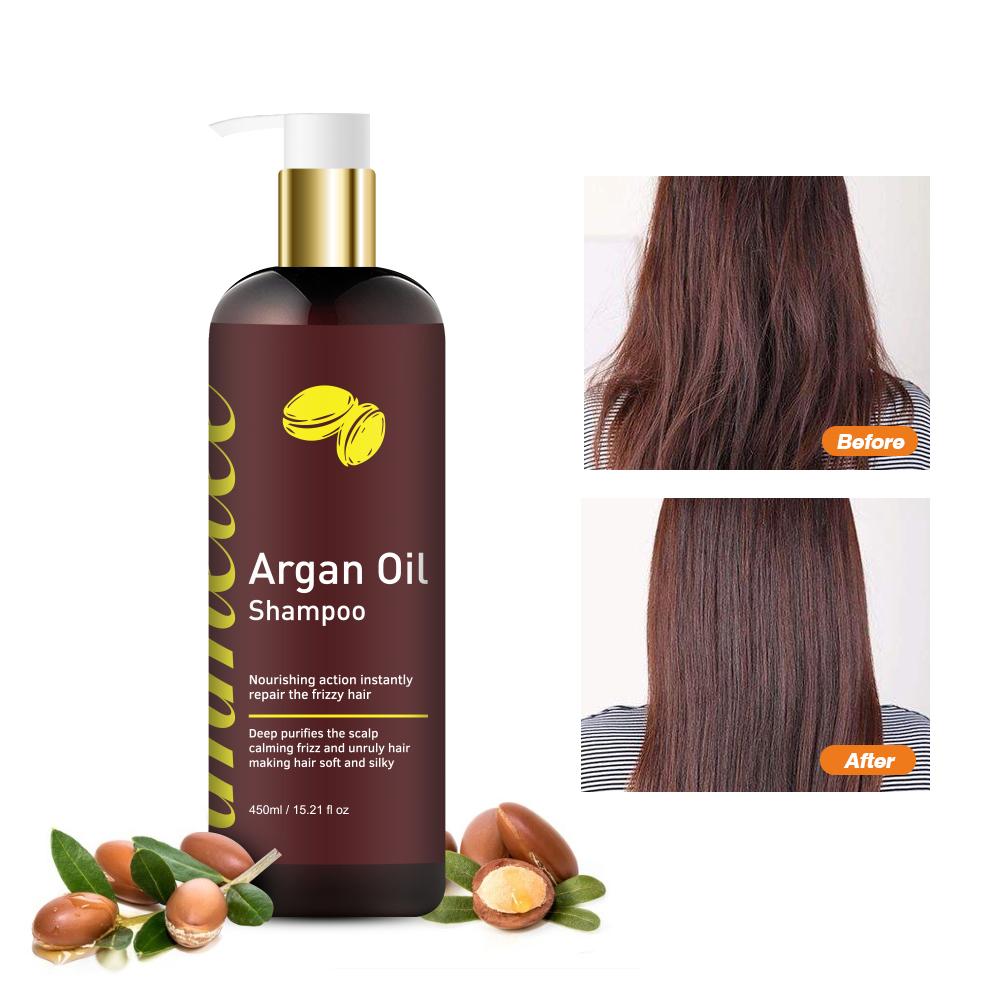 Натуральные волосы глубоко восстанавливающие увлажняющие и питающие волосы оставляют кондиционер марокканское аргановое масло шампунь для волос кондиционер