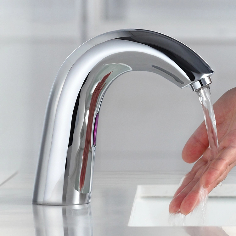 CUPC brass body Touch Free Automatic Sensor tap cold water basin Faucets