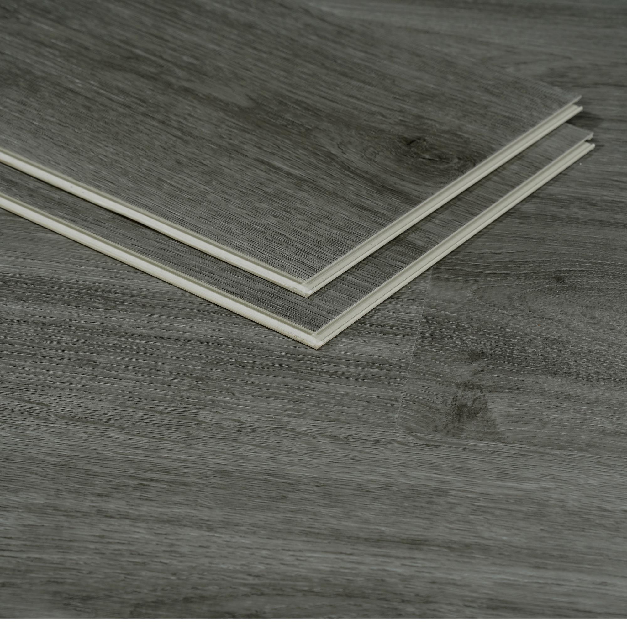 5mm SPC Click Plastic Vinyl Flooring Sheet Waterproof Vinyl Plank