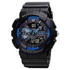Watch Watches Analog Digital Watches Men SKMEI 1688 G Watch Style Digital Watches Analog Digital Luxury LED Display Rubber Sport Watches For Men