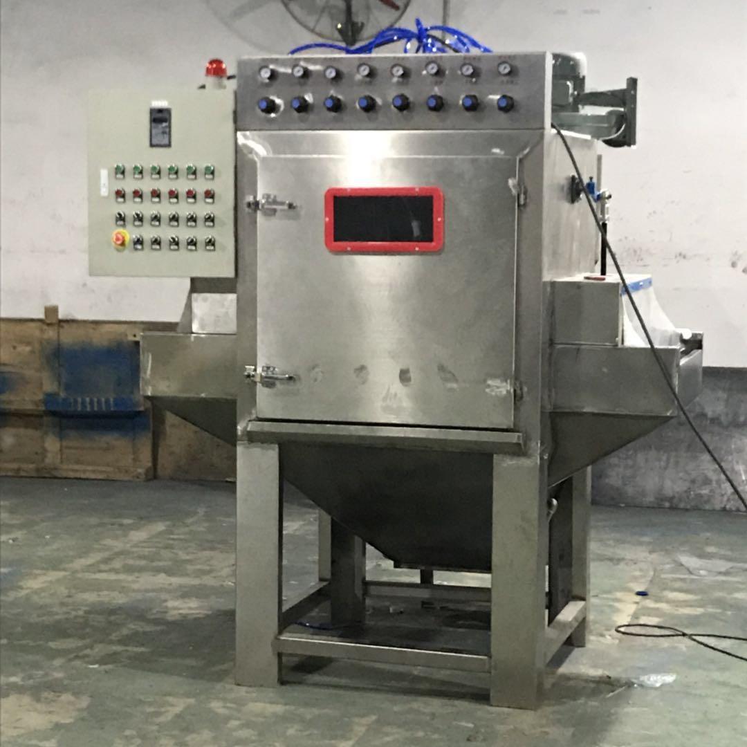 automatic wet sand blasting machine XBH500-6A wet sand blasting machine auto sandblasting machine