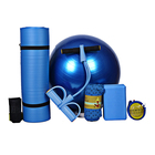 Ball Bag Pilates Fitness Exercise Yoga Ball Set And Carrying Bag 5 Pieces Yoga Mat Set