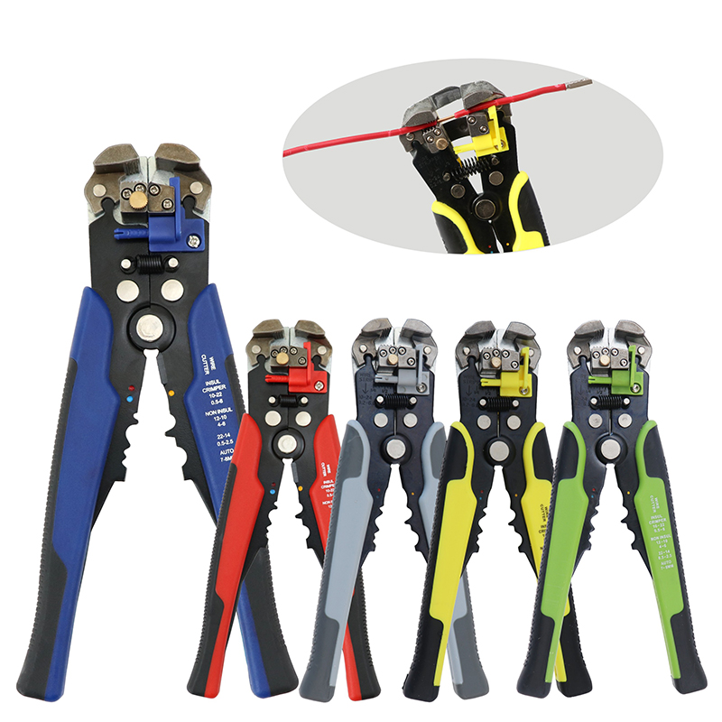 Hadiyah Factory Amazon eBay HOT SALE Adjustable Stripping Length Wire And Cable Cutting Multifunctional Wire Stripper