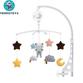 Tempo Infant Musical Bed Bell Box Crib Baby Mobiles For Newborn