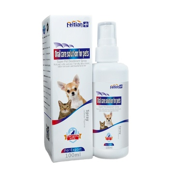 Pet Oral Cavity Care Solution Spray for Dog and Cat Medicine