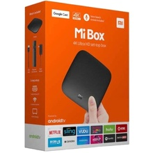 Глобальная версия ТВ-приставка xiaomi mi android 4k ultra hd snternational mi box s
