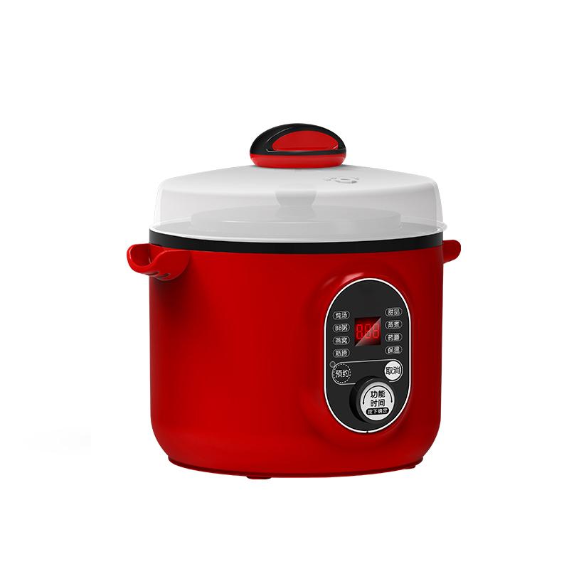 Изготовленные На Заказ Многофункциональные полностью пластиковые керамические электрические сковороды 1 л Безопасные Электрические сковороды