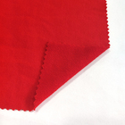 Red Spandex Bright Red French Terry Fabric Sports 55% Rayon 40% Polyester 5% Spandex For Gym Clothes For Women Hoodies