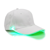 White Cap with Green Lights